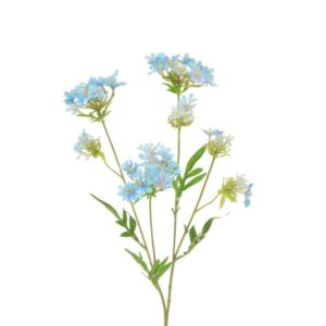 Floralsilk Mini Blue Wild Flower Spray (68cm)