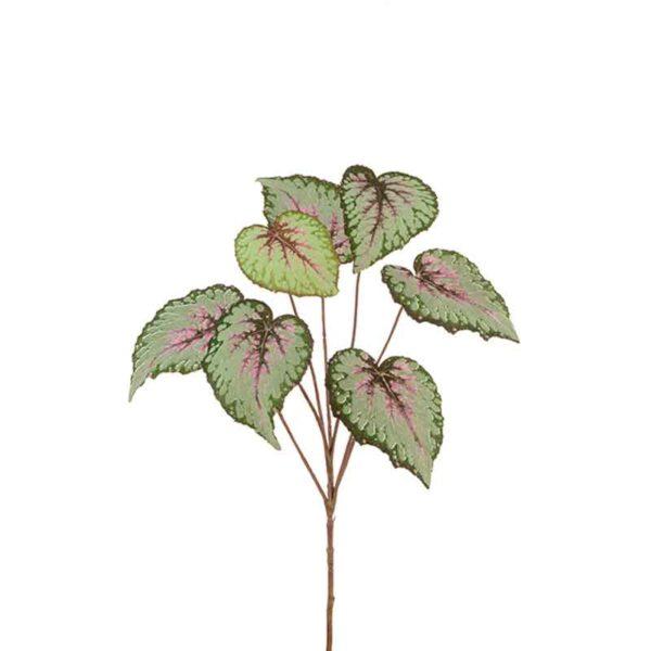 Floralsilk Begonia Leaf Spray (60cm)