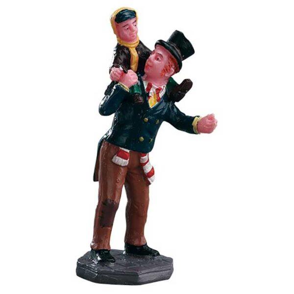 Lemax Bob Cratchit & Tiny Tim Figurine