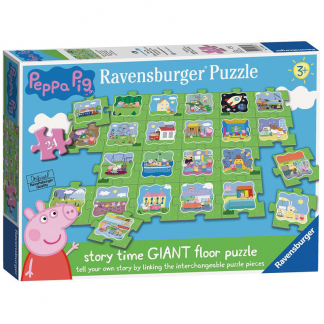 Ravensburger Floor Puzzle Peppa Pig Tell a Story 24 pieces