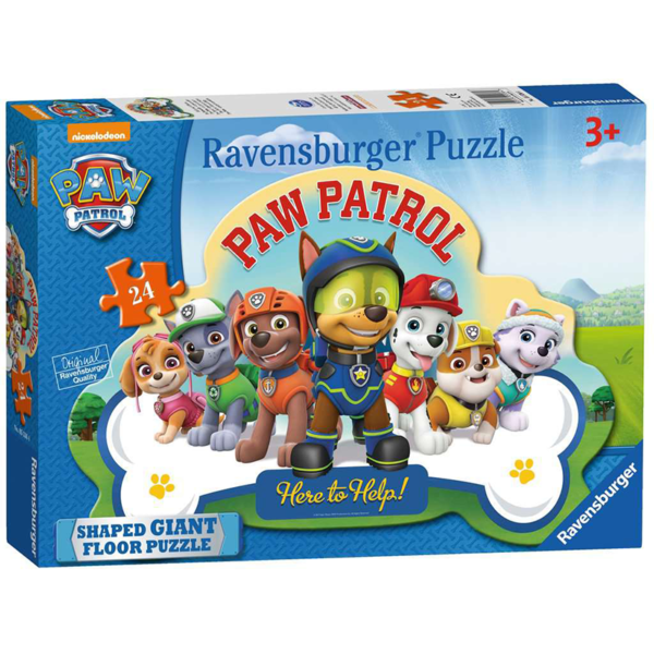 Paw Patrol Shaped Floor Puzzle 24 pieces
