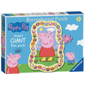 Ravensburger Peppa Pig Shaped Floor Puzzle 24 pieces