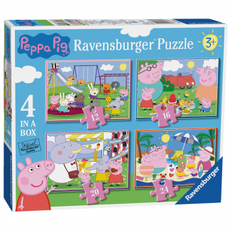 Ravensburger Puzzle Peppa Pig - 4 in a Box