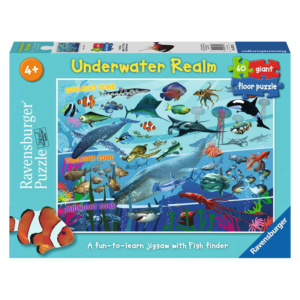 Ravensburger Floor Puzzle Underwater Realm 60 pieces