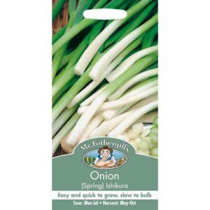 Mr Fothergill's Onion (Spring) Ishikura Seeds