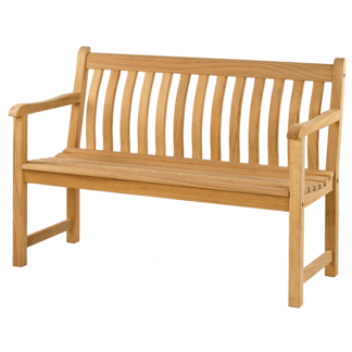 Alexander Rose Roble Broadfield Garden Bench (4ft)