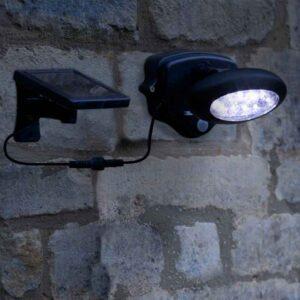 1070150RB---PIR-Wall-Spotlight---Night-insitu