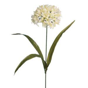 Floralsilk Cream Agapanthus Stem (67cm)
