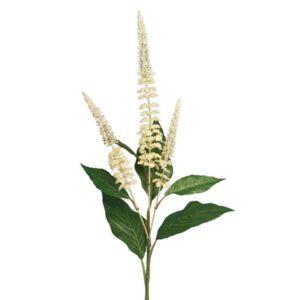 Floralsilk Ivory Buddleia Stem - 3 Heads (75cm)