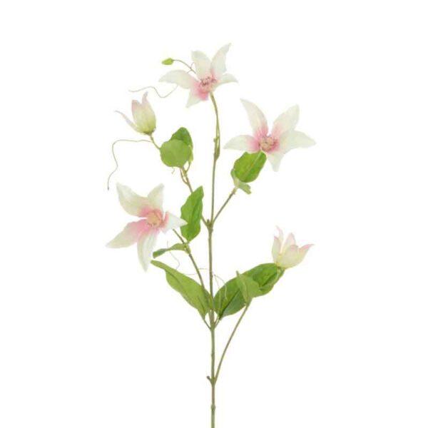Floralsilk Clematis Spray (77cm)