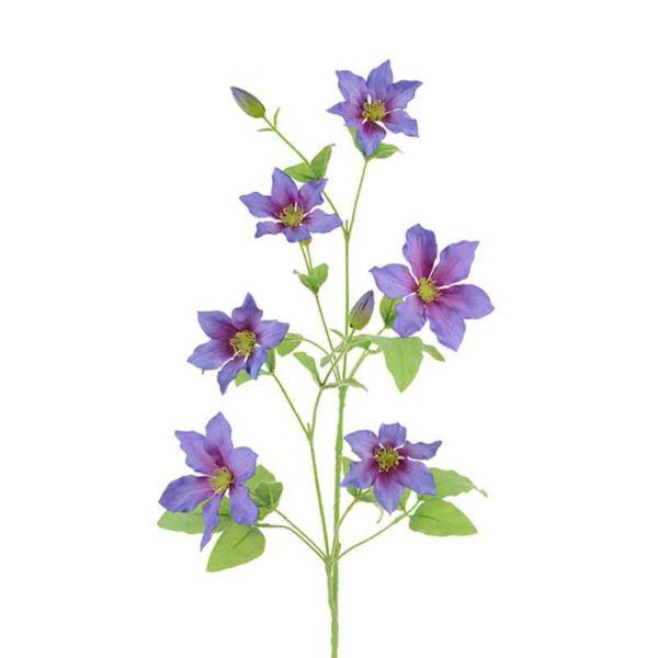 Floralsilk Clematis Spray Stem (94cm)
