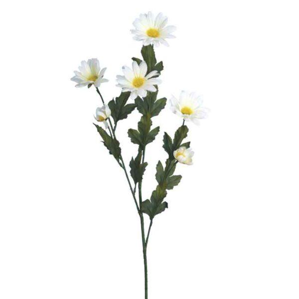 Floralsilk White Daisy Stem (71cm)
