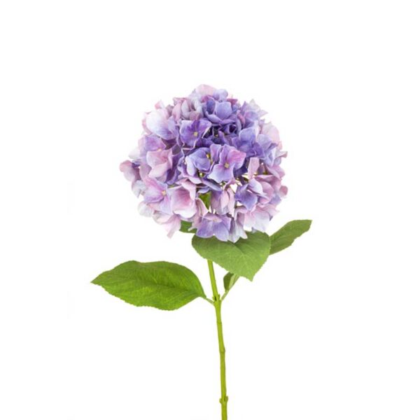 Floralsilk Purple Pink French Hydrangea (70cm)