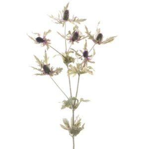 Floralsilk Lavender Sea Holly Stem (80cm)