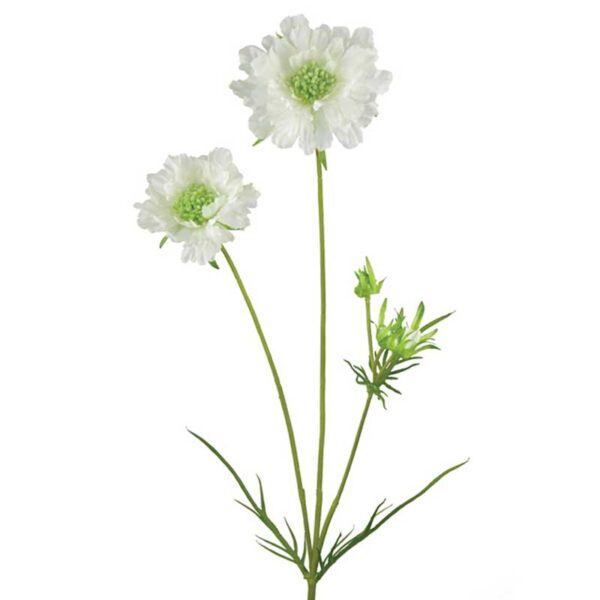 Floralsilk Scabiosa Spray-84