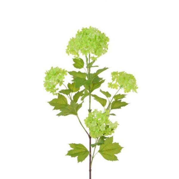 Floralsilk Green Viburnum Branch (87cm)
