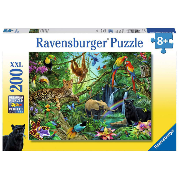 Ravensburger Puzzle Jungle XXL 200 pieces