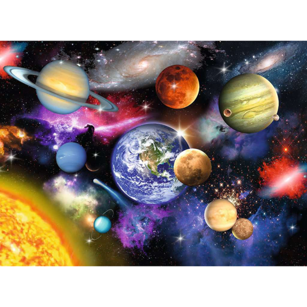 Detail of Ravensburger Puzzle Solar System XXL 300 pieces