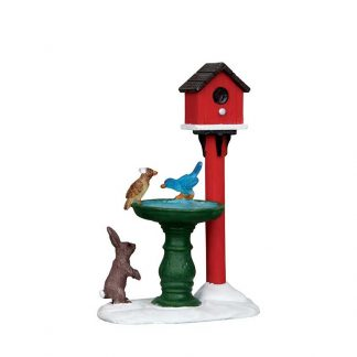 Lemax Deer Fountain