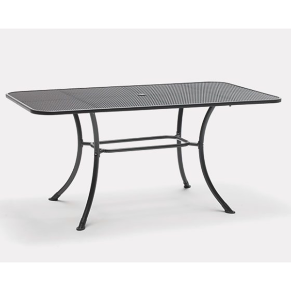 Siena Mesh Rectangular Table 160x90cm