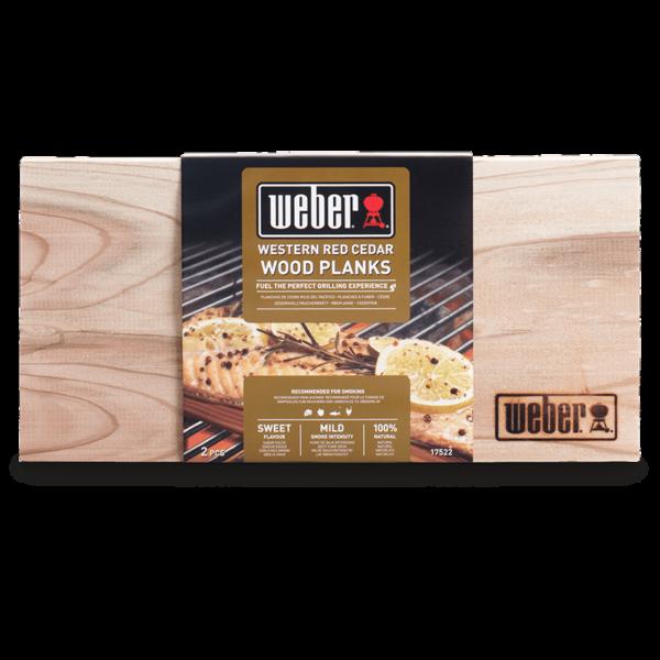 Weber Western Red Cedar Wood Planks x 2