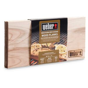 Weber Western Red Cedar Wood Planks - Small