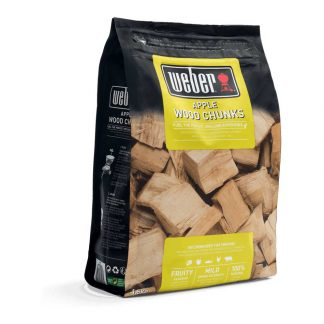 Weber Apple Wood Chunks for Barbecue Smoking