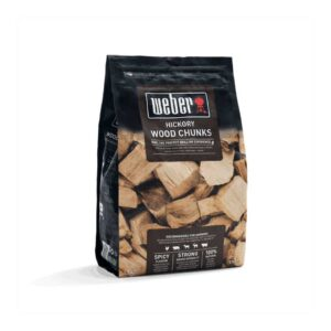 Weber Hickory Wood Chunks for Barbecue Smoking