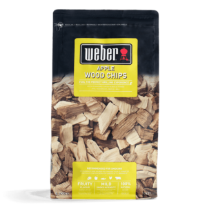 Weber Apple Wood Chips for BBQ Smoking (0.7 kg)