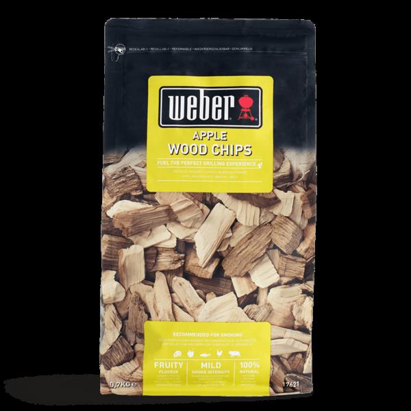 Weber Apple Wood Chips for BBQ Smoking (0.7 kg)