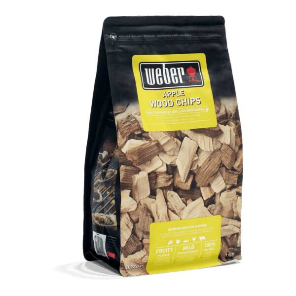 Weber Apple Wood Chips for BBQ Smoking