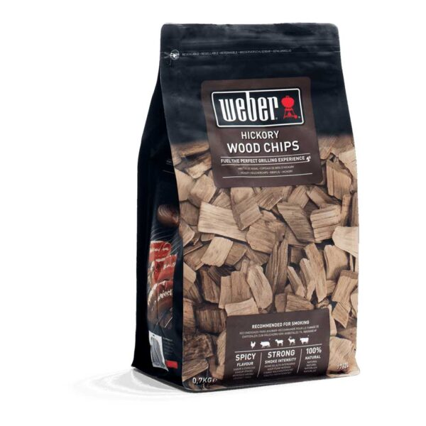 Weber Hickory Wood Chips for BBQ Smoking