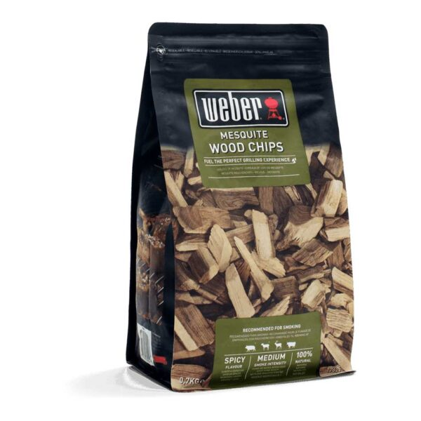 Weber Mesquite Wood Chips for BBQ Smoking
