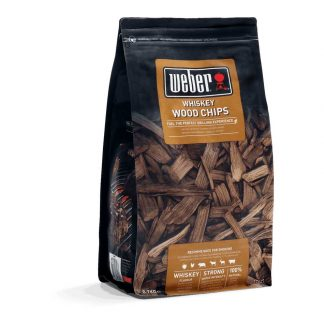 Weber Whiskey Wood Chips for Barbecue Smoking