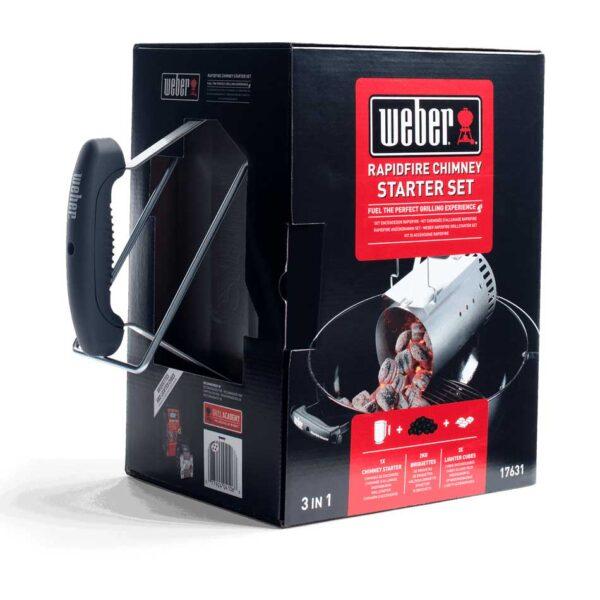 Weber Rapidfire Chimney Starter Set Boxed