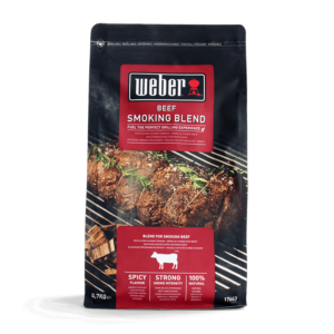 Weber Beef Smoking Blend Wood Chips for BBQ Smoking (0.7 kg)