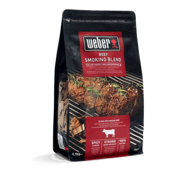 Weber Wood Chips Beef Blend for BBQ Smoking