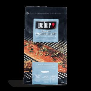 Weber Seafood Smoking Blend Wood Chips for BBQ Smoking (0.7 kg)