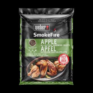 Weber Apple All-Natural Hardwood Pellets (9kg bag)