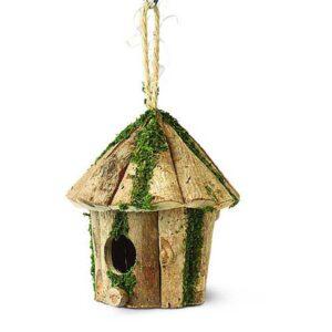 Tom Chambers Round Log Hut Nest Box