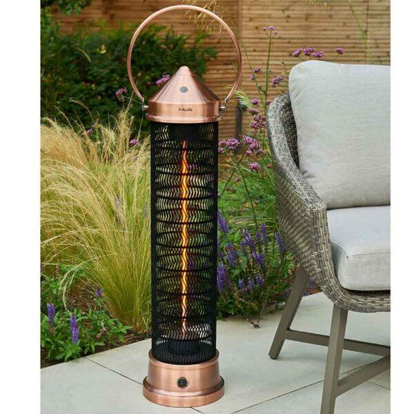 2000W Large Lantern 98cm in use