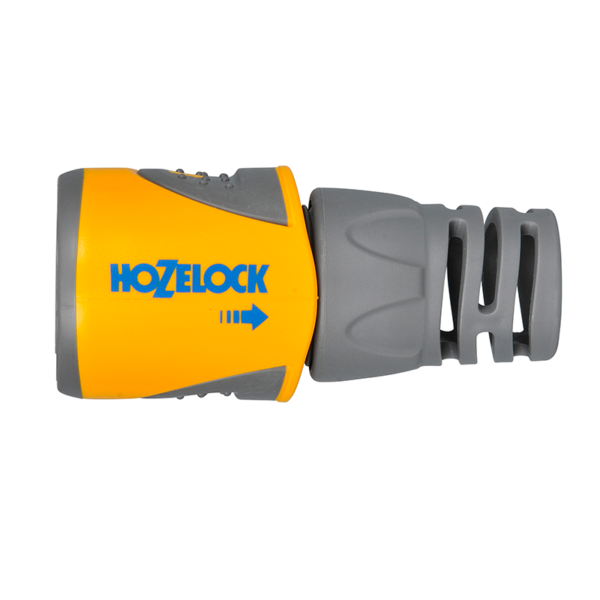 Close up of Hozelock Hose End Plus Connector
