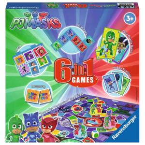 Ravensburger PJ Masks 6-in-1 Games