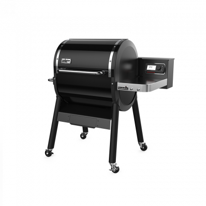 Weber SmokeFire EX4 GBS Wood Fired Pellet Grill Barbecue (Black)