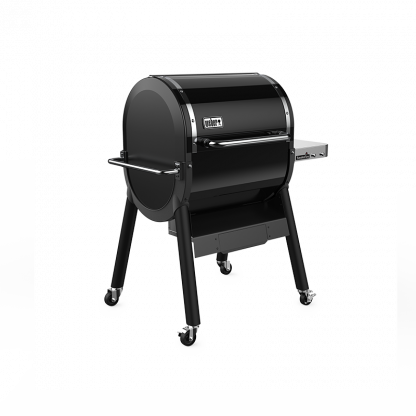 Side of SmokeFire Series EX4 GBS Wood Fired Pellet Grill