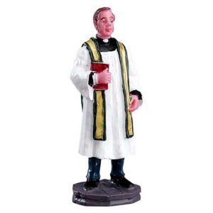 Lemax Figurine of Reverend Smythe