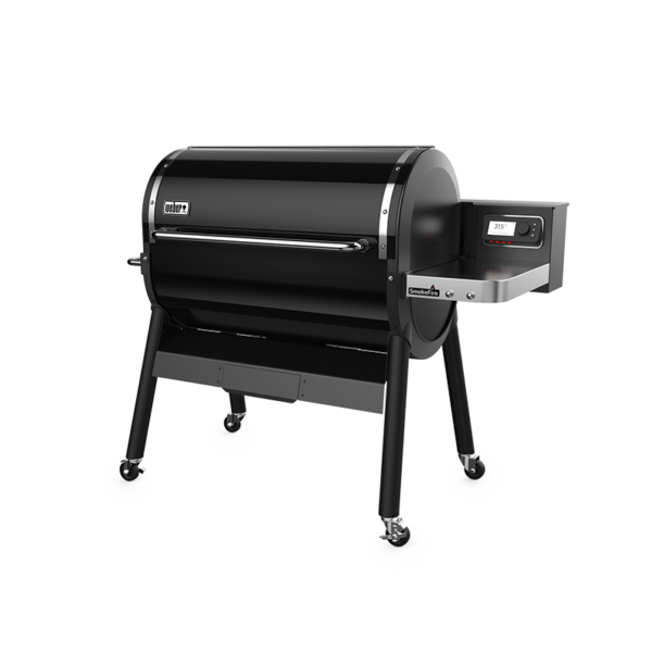 Weber SmokeFire EX6 GBS Wood Fired Pellet Grill (Black)