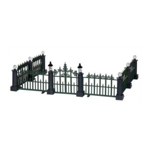 Lemax Classic Victorian Fence, Set Of 7 Pieces