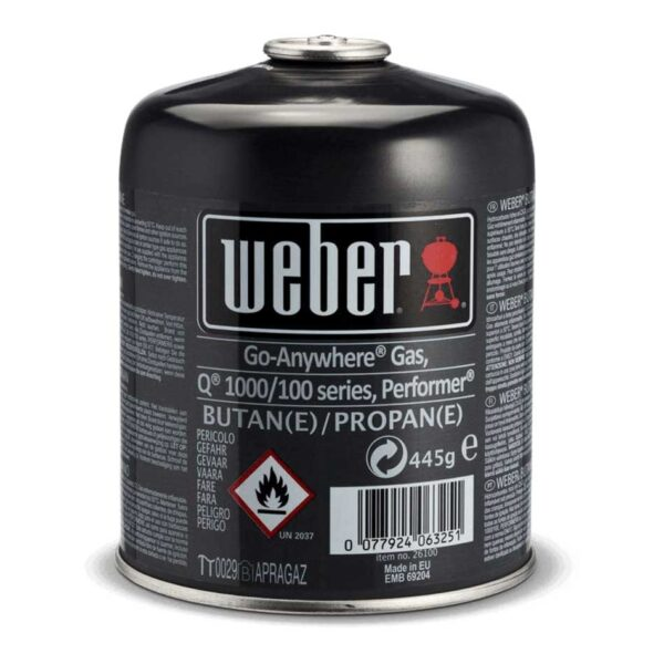Weber Disposable Gas Canister (445g)