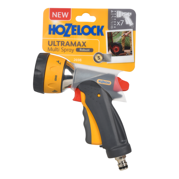 Hozelock Multi Spray Ultramax with 7 settings